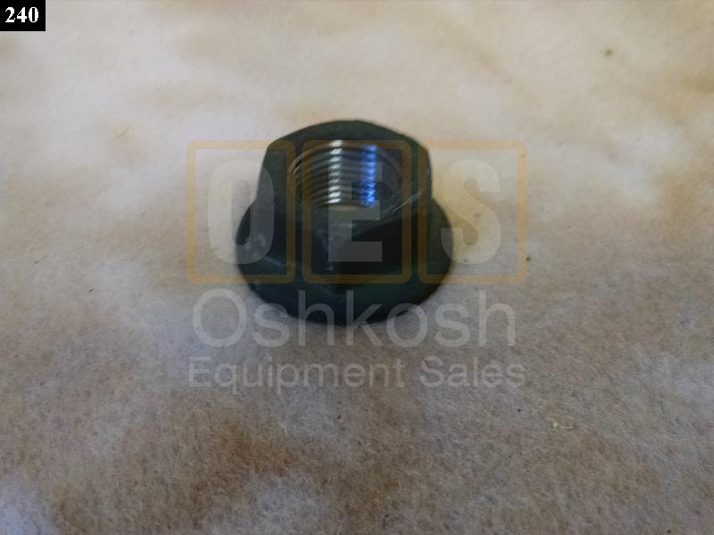 Nut for Two Piece Combat Wheel, HEMTT and M1070 Wheel Rim Assembly - Used Serviceable