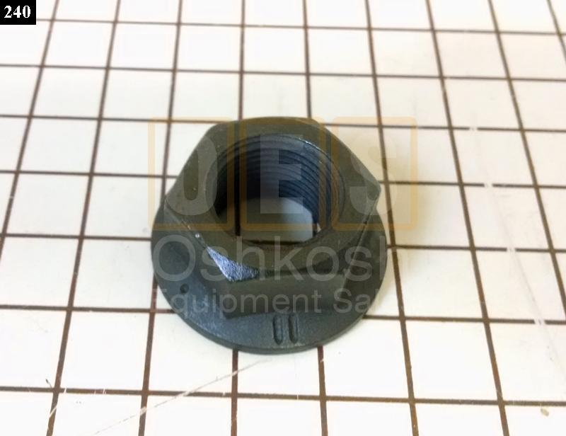 Nut for Two Piece Combat Wheel, HEMTT and M1070 Wheel Rim Assembly - NOS