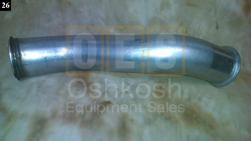 Exhaust Pipe (from exhaust manifold to under cab) - New Replacement
