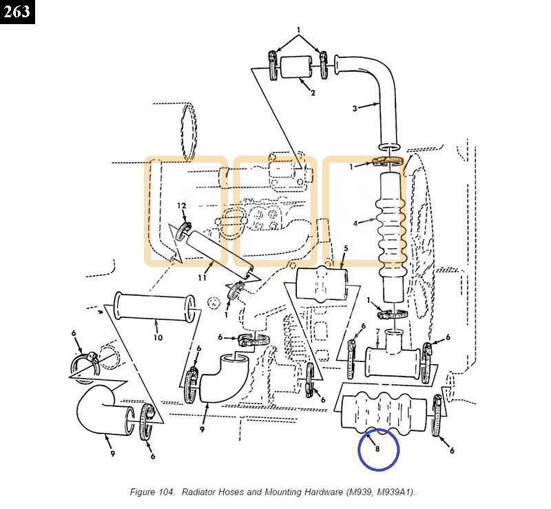Radiator Hose Lower - New Replacement