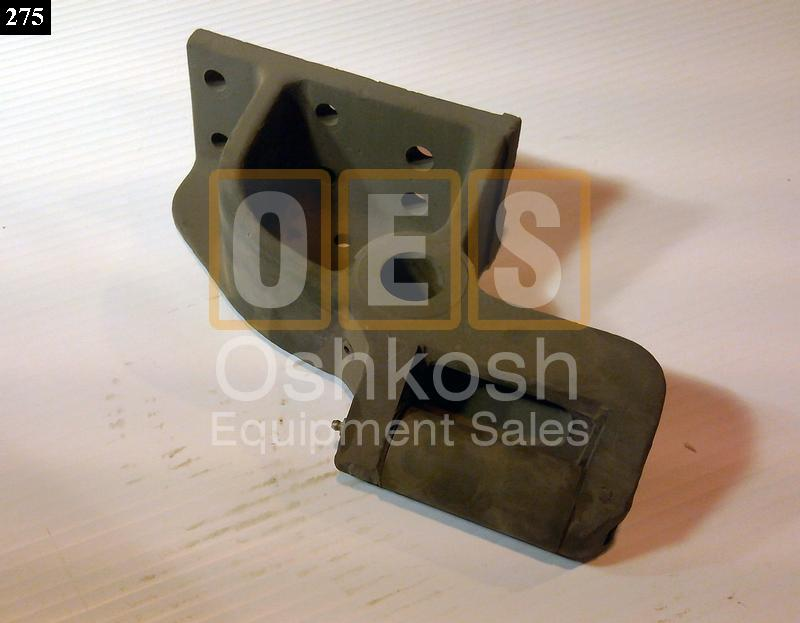 Front Winch Cable Guide Bracket with Roller LH - Used Serviceable
