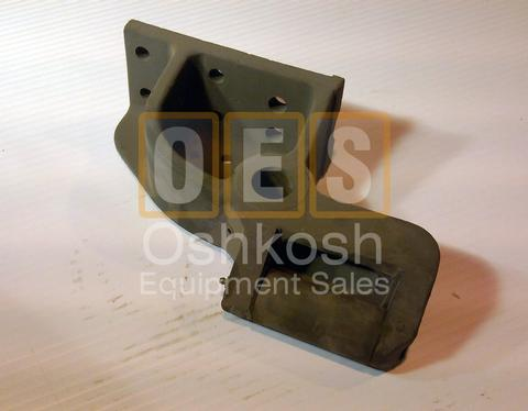 Front Winch Cable Guide Bracket with Roller LH