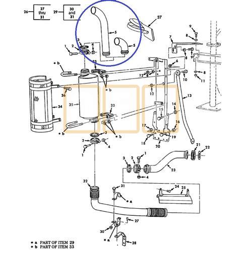 Exhaust Pipe Stack (except Dump/Tractor)