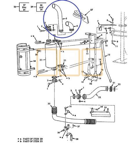 Exhaust Stack Short (Dump/Tractor)