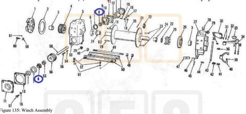 Winch Parts, Wire Rope, Cable Ends, Chains, Pulley Blocks