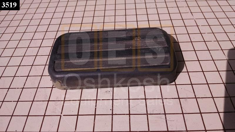 Pedal Rubber Pad - Used Serviceable