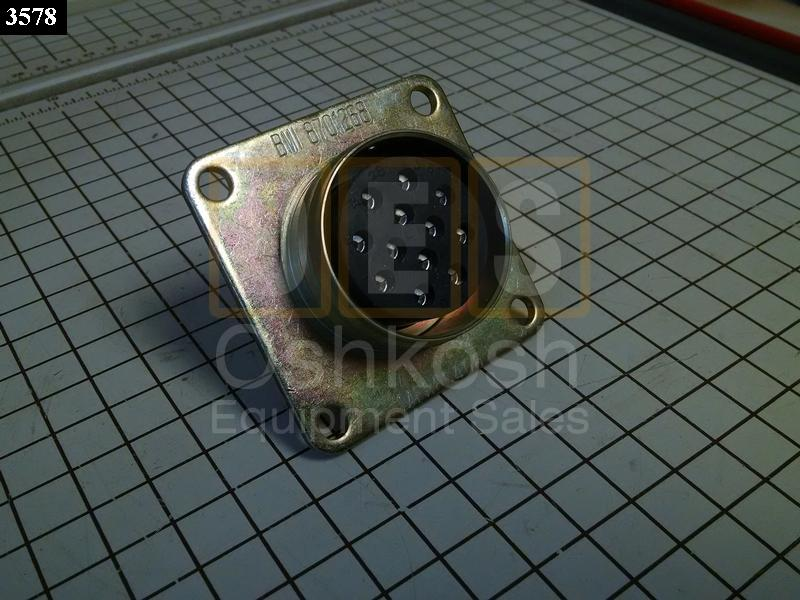 Receptacle Socket Type 0.60 Standard Connector - Oshkosh Equipment