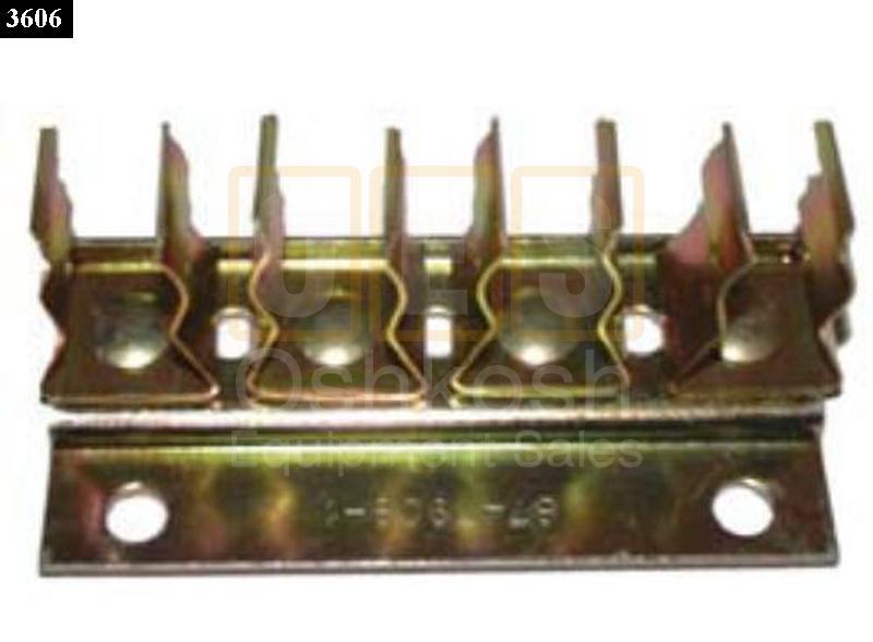 10 pack wiring harness organizer clip 4 place holder oshkosh equipment