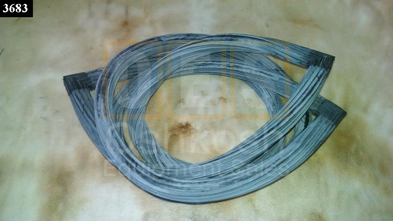 Windshield Glass Rubber Seal - New Replacement