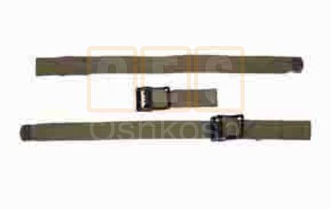 Top bow hold down strap set
