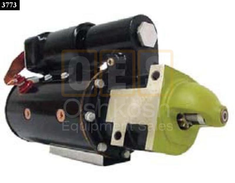 Starter Motor Oshkosh Equipment