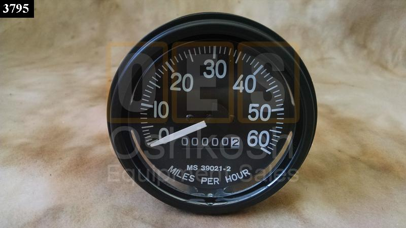 Speedometer 0-60 MPH - New Replacement