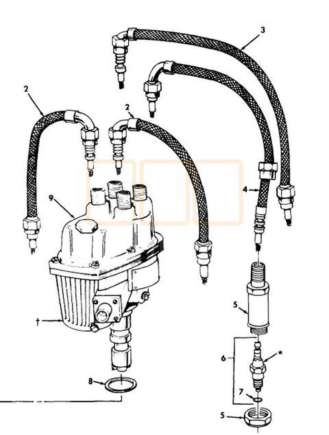 Spark Plug Wire Set M151