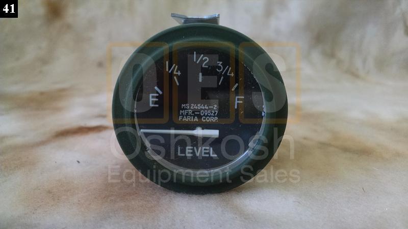 Fuel Level Indicator Gauge Meter (Gas Diesel) - New Replacement