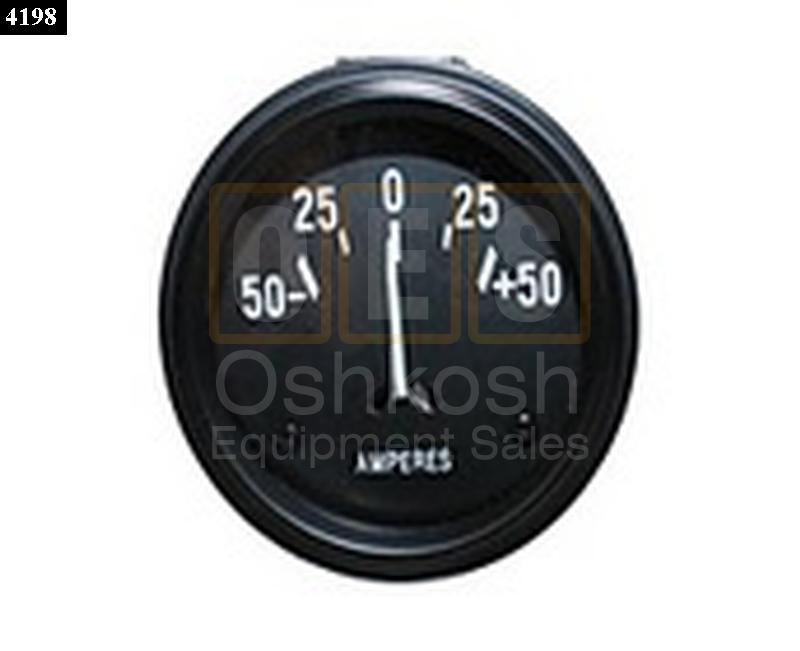 Ampere (AMP) Gauge for early CJ Jeeps and Willy's MB - New Replacement
