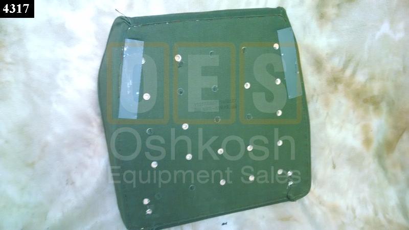 Green Driver Seat Bottom Cushion - NOS
