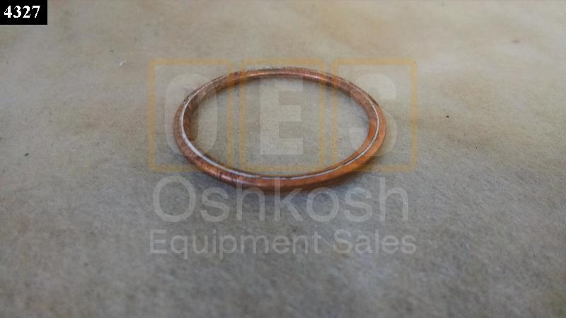 Copper Fuel Tank Drain Gasket Washer - New Replacement