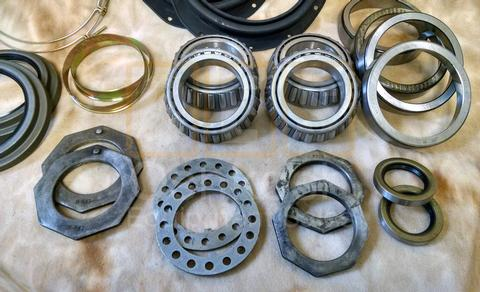 Front Axle Seal and Wheel Bearing Kit