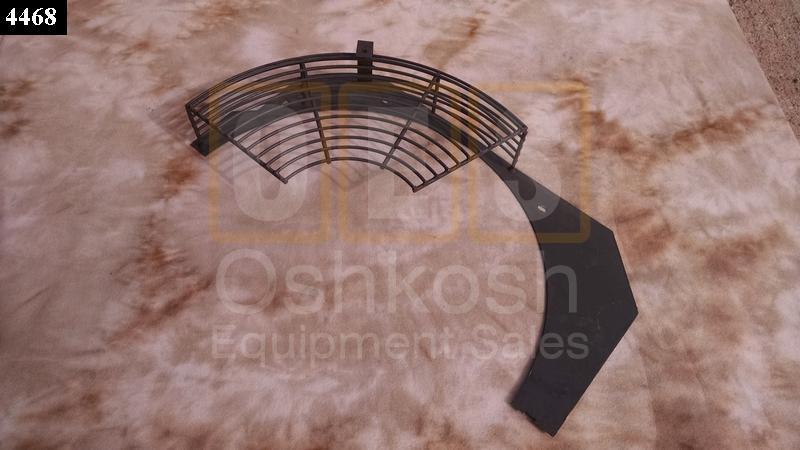 Radiator Fan Shroud Guard RH - Used Serviceable