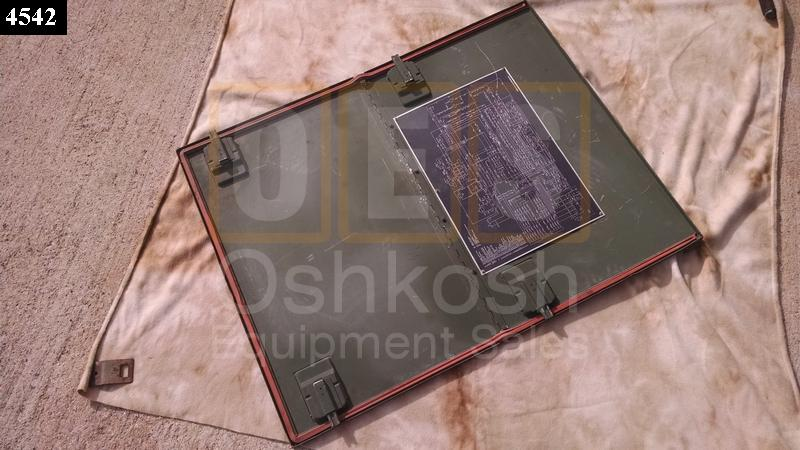 Generator Door Access Panel - Used Serviceable