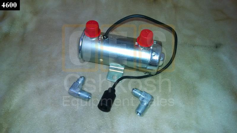Electric Fuel Pumps For Tractors : Electric fuel pump kit volt oshkosh equipment