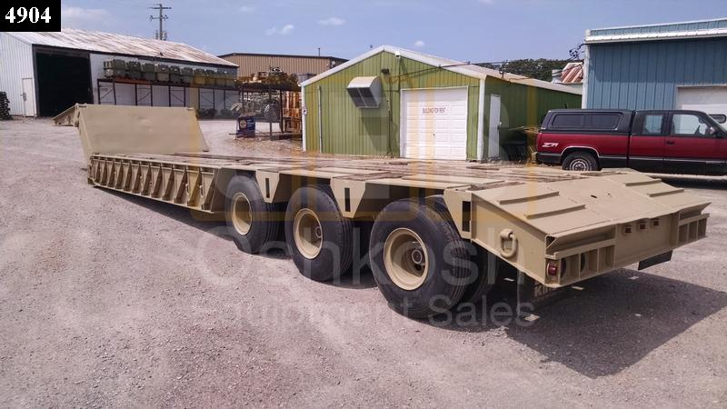 M870 (40 Ton) Heavy Equipment Trailer (T-1100-38) - Rebuilt/Reconditioned
