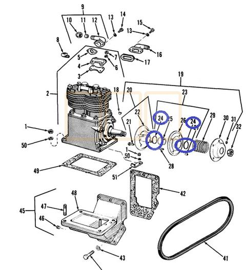 gaskets and seals oshkosh equipment