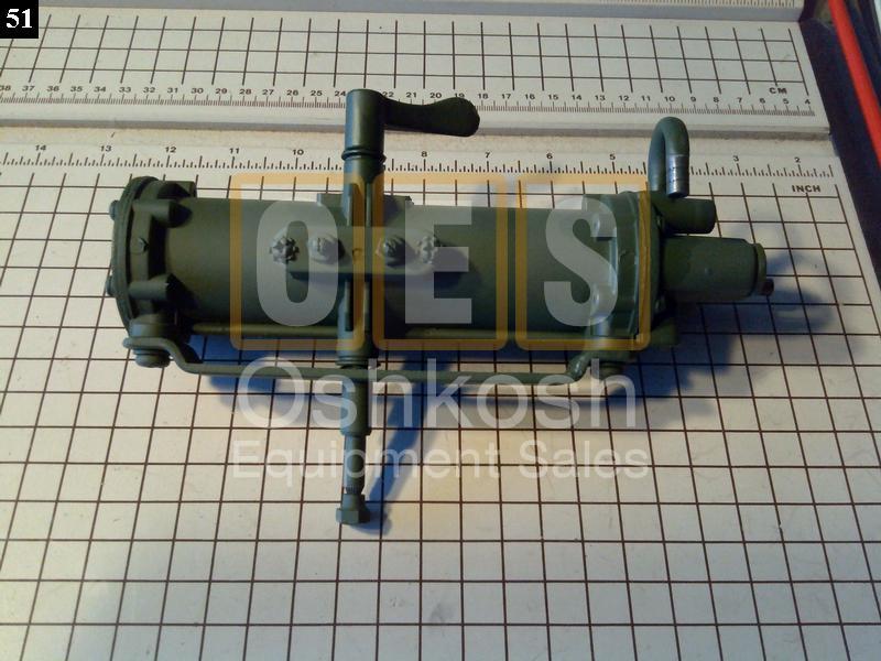 Air operated wiper motor oshkosh equipment for Air powered gear motor
