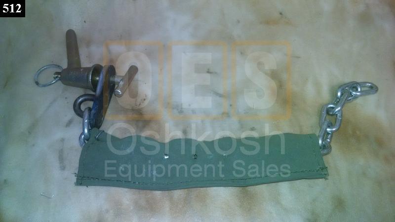 Cargo Box Drop Side Latch Handle - NOS