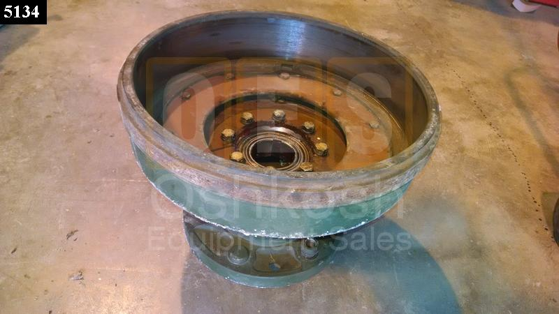 REAR HUB AND BRAKE DRUM ASSEMBLY M35A3 RH With CTIS - Used Serviceable