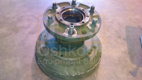 REAR Hub and Brake Drum assembly M35A3 LH WITH CTIS