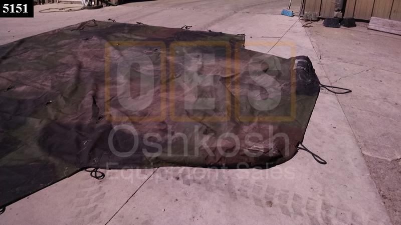 Dump Body Cargo Cover Tarp - Used Serviceable
