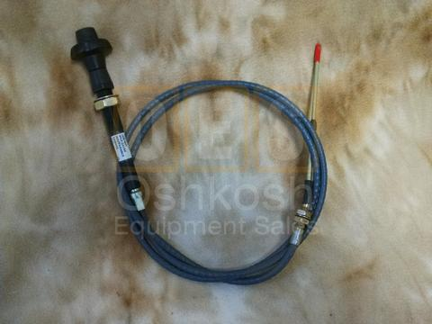 Throttle Cable (Governor Manual Control)