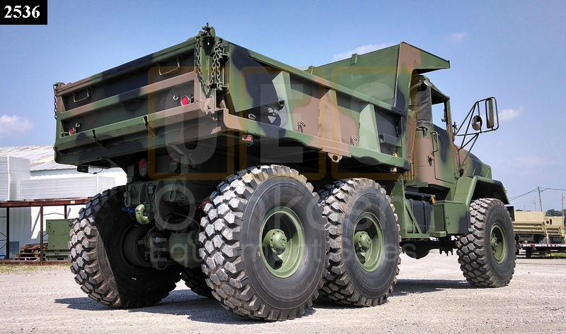 M929A1 5 Ton 6x6 Military Dump Truck (D-300-83) - Rebuilt/Reconditioned