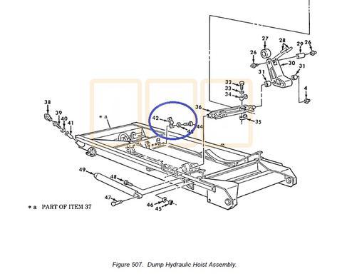 Dump Hydraulic Cylinder Mounting Clamp