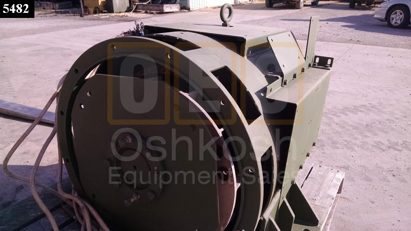 100KW 3-Phase Main Alternator Generator End MEP007A or MEP007B - Used Serviceable