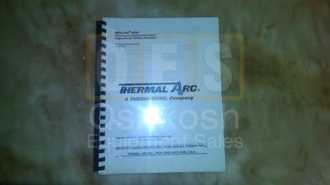 Owner's Manual 300 Amp constant Current Diesel Engine-Driven