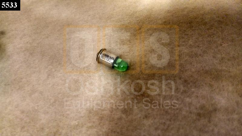 LED Generator AC Circuit Interrupter Panel Light Green - New Replacement