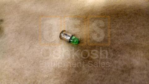 LED Generator AC Circuit Interrupter Panel Light Green