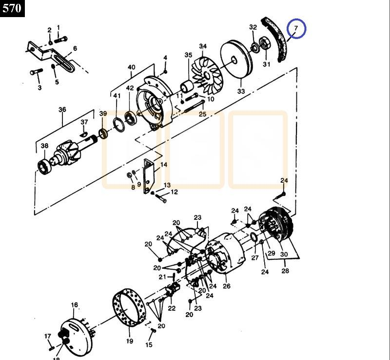 Alternator Belt - New Replacement