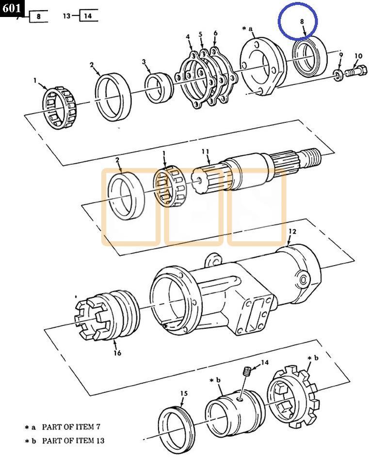 Transfer Case Pto Output Shaft Seal