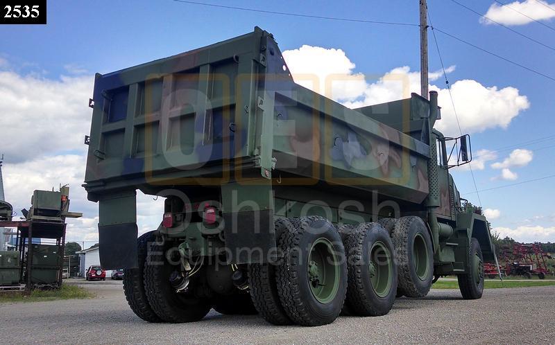 M917 20 Ton 8x6 Military Dump Truck (D-300-80) - Rebuilt/Reconditioned