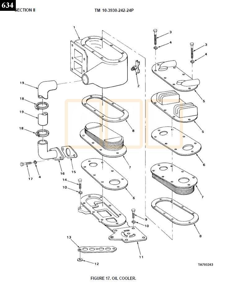 4 53 detroit diesel engine parts