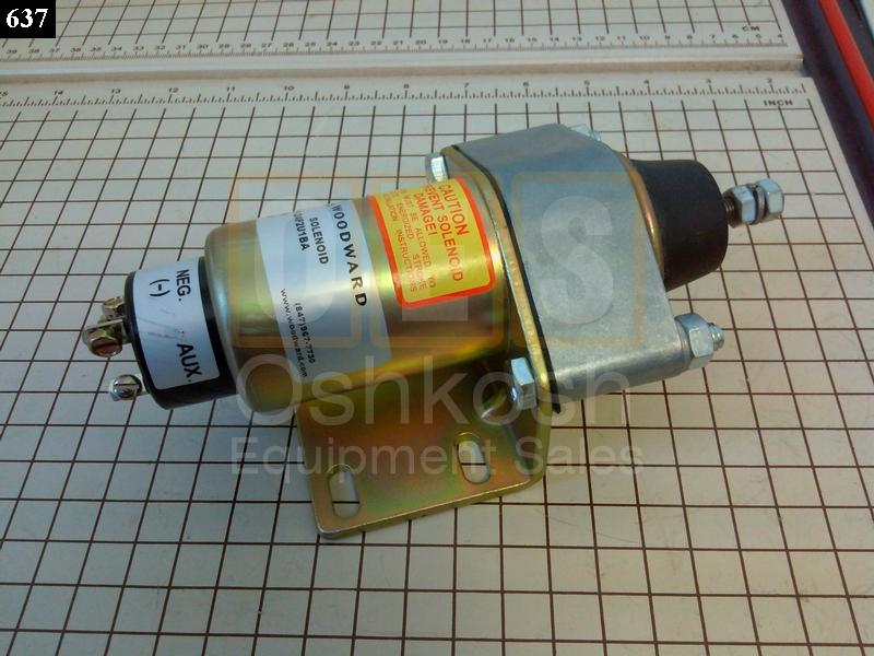 Electric Engine Stop Solenoid - New Replacement