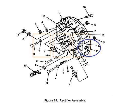 Main Generator Rectifier Diode 2