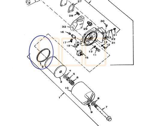 Oil Filter Sealing Gasket O Ring