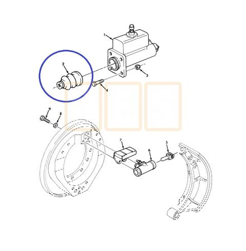 S Cam Brake System Diagram in addition DOT CDL  mercial Vehicle Inspection Procedures also Brake 2DMaster 2DCylinder 2DDust 2DBoot additionally 160851188406 additionally Acdelco Alternator Wiring Diagram. on tractor trailer steering system components