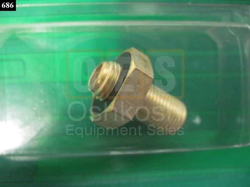 Large Valve Stem Adapter to Standard Size (MRAP WHEELS) - New Replacement