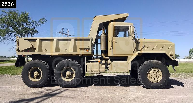 M929A2 5 Ton 6x6 Military Dump Truck (D-300-74) - Rebuilt/Reconditioned