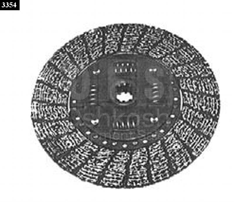 8 1/2 Inch Clutch Disc - New Replacement